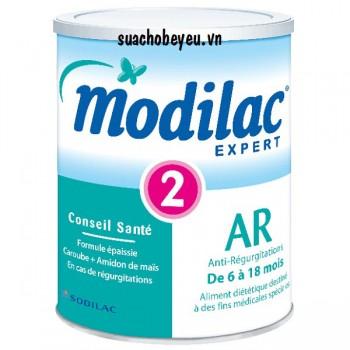 Sữa bột Modilac Expert AR 2, trị nôn trớ, 900g
