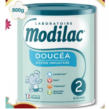 Sữa Modilac Expert Doucéa 2, trẻ 6-12 tháng hộp 800g