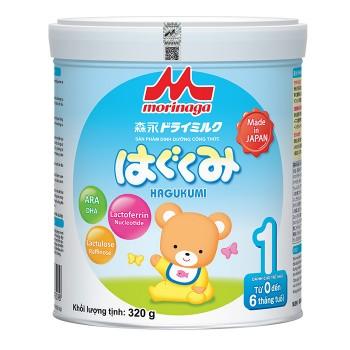 Sữa Morinaga số 1, Nhật Bản, 320g, 0-6 tháng tuổi