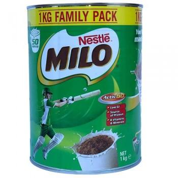 Sữa bột dinh dưỡng Milo Nestle Úc hộp 1kg