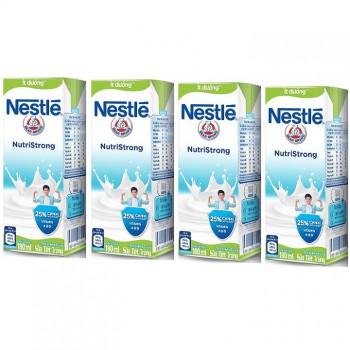 Thùng Sữa nước Nestle Ít Đường, 48 hộp 180ml