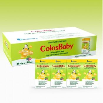 Sữa non Colosbaby pha sẵn hộp 110ml, trẻ trên 1 tuổi