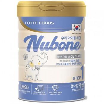 Sữa Nubone Step 1 trẻ 0-12 tháng, Lotte Hàn Quốc