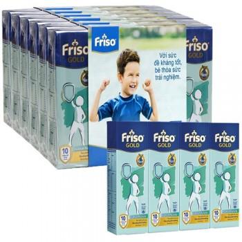 Thùng sữa bột pha sẵn Friso Hà Lan 48 hộp 110ml