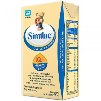 Thùng sữa Similac IQ Plus pha sẵn hộp 110ml cho trẻ từ 1 tuổi