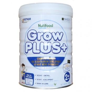 Sữa bột Nuti Grow Plus + trắng cho trẻ thừa cân béo phì