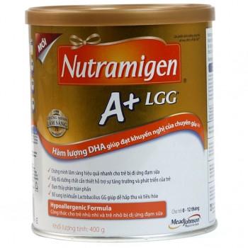 Sữa Nutramigen A+, Mead Johson, 0-12 thang, 400g
