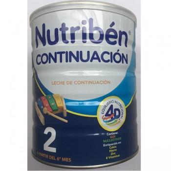 Sữa Nutribén nhập khẩu số 2, trẻ 6-12 tháng, 800g