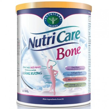 Sữa Nutricare Bone hộp 400g hỗ trợ xương khớp