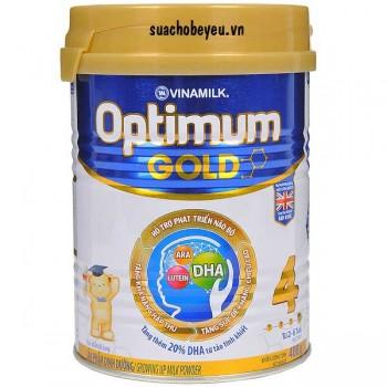 Sữa Optimum Gold 4, Vinamilk, 2-6 tuổi, 400g