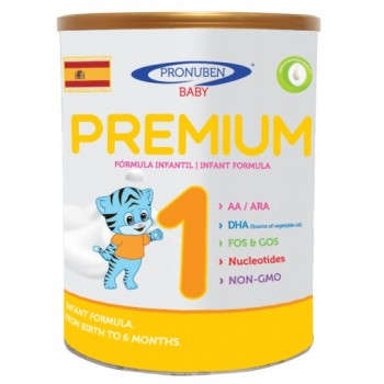 Sữa Pronuben Premium Hổ Xanh 1, 0-6 tháng, 800g