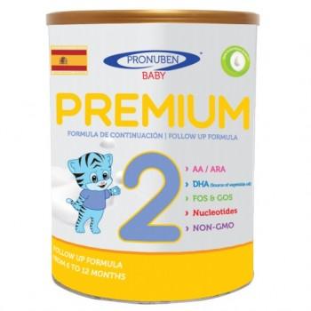 Sữa Pronuben Premium Hổ Xanh 2, 6-12 tháng, 800g