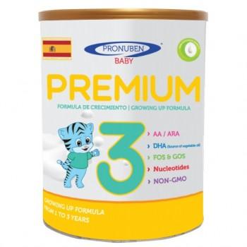 Sữa Pronuben Premium Hổ Xanh 3, lon 800g, 1-3 tuổi