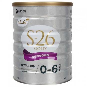 Sữa S26 Gold Newborn số 1 Úc, 0-6 tháng, 900g