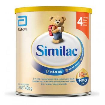 Sữa Similac IQ 4 Intelli Pro, Abbott, 400g, 2-6 tuổi