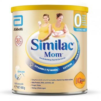 Sữa Similac Mom IQ Cho Mẹ Bầu, Hương Vani, hộp 400g