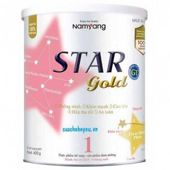 Star Gold 1 - Namyang Hàn Quốc, 0 - 6 tháng, 400g