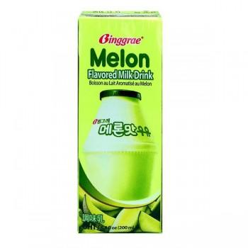 Thùng sữa Binggrae Hàn Quốc  vị Dưa Lưới, 200ml