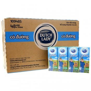 Sữa Cô Gái Hà Lan Cao Khoẻ có đường hộp 170ml
