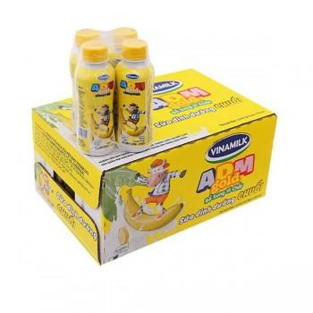 Sữa Tiệt Trùng Vinamilk ADM Gold Chuối 24 chai 150ml