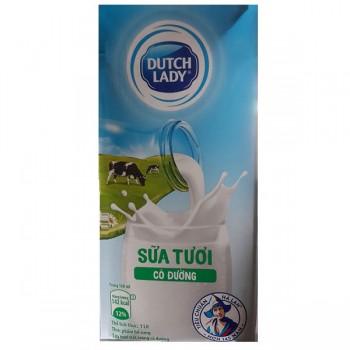 Sữa tươi Cô Gái Hà Lan có đường 12 hộp 1 lit