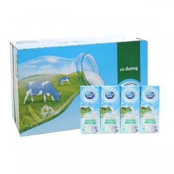 Sữa tươi Cô Gái Hà Lan có đường 180ml x 48 hộp