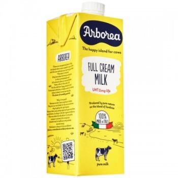 Thùng sữa tươi Ý nguyên kem Arborea hộp 1 lít