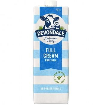 Sữa tươi nguyên kem Devondale Úc 10 hộpx1Lít
