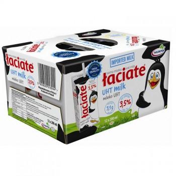 Xách sữa tươi nguyên kem Ba Lan Laciate hộp 200ml