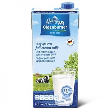Sữa tươi nguyên kem Oldenburger Đức hộp 1 lít