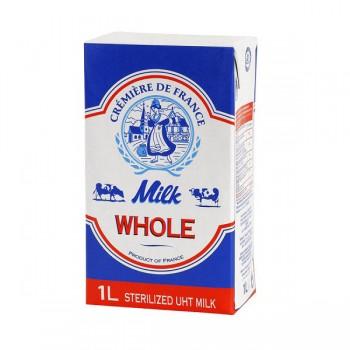 Sữa tươi nguyên kem hộp 1Lit Cremiere De France
