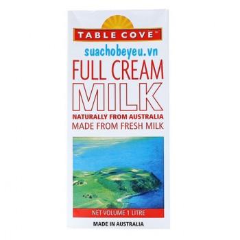 Sữa tươi nguyên kem Table Cove Úc, hộp 1lít