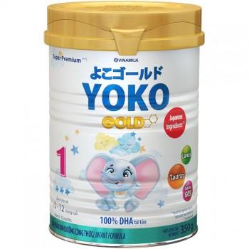 Sữa Yoko Gold số 1 cho trẻ 0-12 tháng tuổi lon 350g