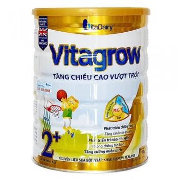 Sữa Vitagrow tăng chiều cao cho trẻ trên 2 tuổi lon 900g