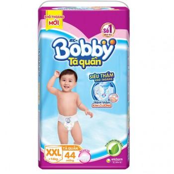 Tã quần Bobby size XXL 44 miếng, cho trẻ >16kg