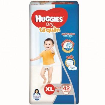 Tã quần Huggies size XL 42 miếng trẻ 12-17kg