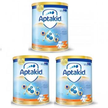 Thùng sữa bột Aptakid New Zealand số 3, cho trẻ  từ 2 tuổi