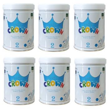 Thùng sữa Koko Crown số 2, cho trẻ 6-12 tháng, 800g