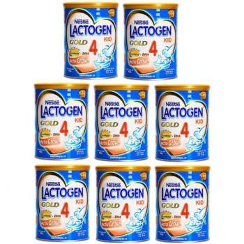 Thùng sữa Lactogen Gold 4, Nestlé, 2-6 tuổi, 900g