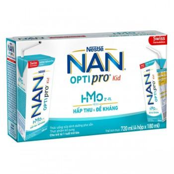 Thùng sữa bột pha sẵn Nan Optipro 24 hộp 180ml