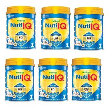 Thùng Nuti IQ Gold Step 1, Nuti Food, 900g, 0-6 tháng