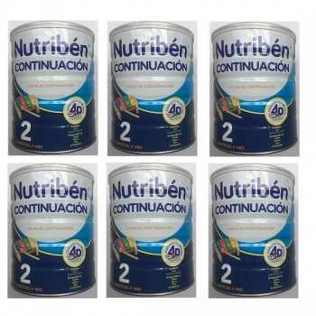 Thùng sữa Nutribén số 2, cho trẻ 6-12 tháng, 800g