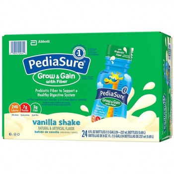 Sữa nước Pediasure Grow and Gain with Fiber chai 237ml