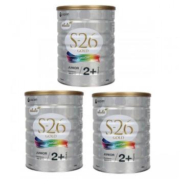 Thùng Sữa S26 Gold Junior 4 của Úc, 900g, trẻ >2 tuổi