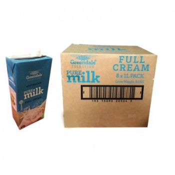 Sữa tươi nguyên kem Greendale Úc hộp 1 litre
