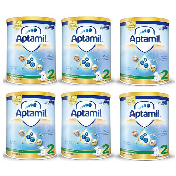 Sữa Aptamil số 2 nhập khẩu New Zealand, cho trẻ 1-2 tuổi