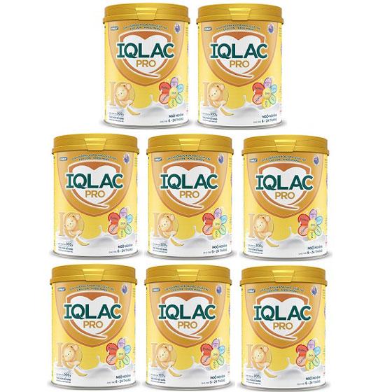 Thùng Sữa IQlac Pro Ngộ nghĩnh, 6-24 tháng, 900g