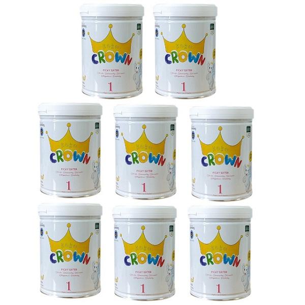 Thùng sữa Koko Crown, trẻ biếng ăn 1-2 tuổi, 800g
