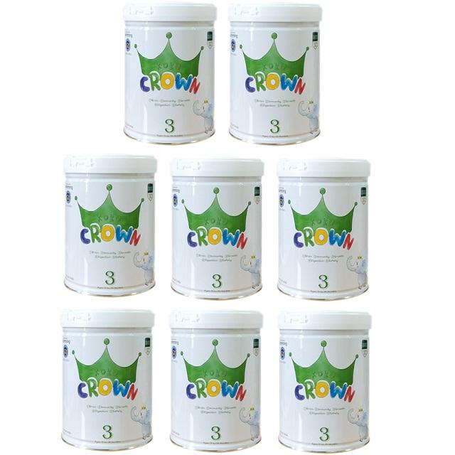 Thùng Sữa Koko Crown số 3, cho trẻ 1-3 tuổi, 800g