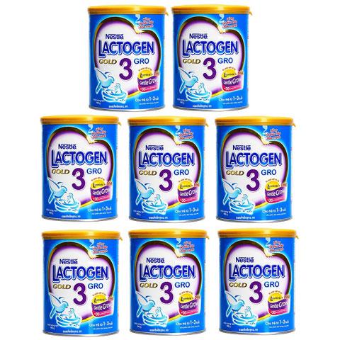 Thùng sữa Lactogen Gold 3, Nestlé, 1-3 tuổi, 900g